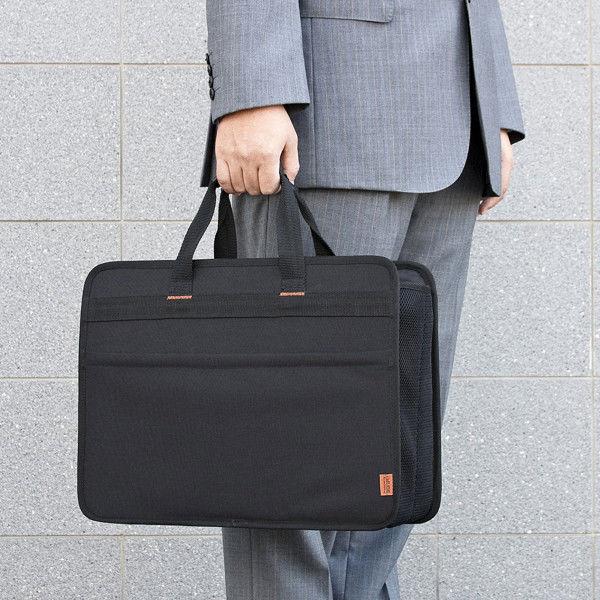 サンワサプライ らくらくPCキャリーL BAG-BOX3BK2 1個 (直送品)