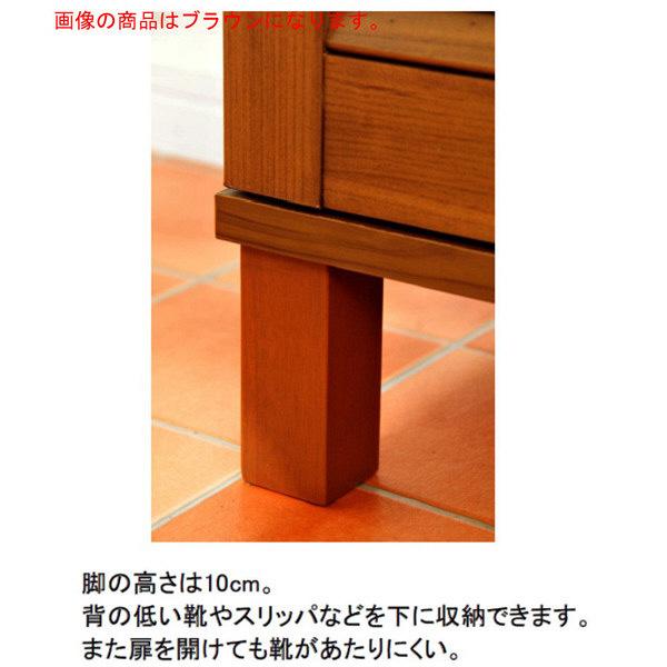 佐藤産業 ENTOシューズ&ストッカー 幅600mm×高さ1041mm ブラウン ET100-60BR 1台 (直送品)