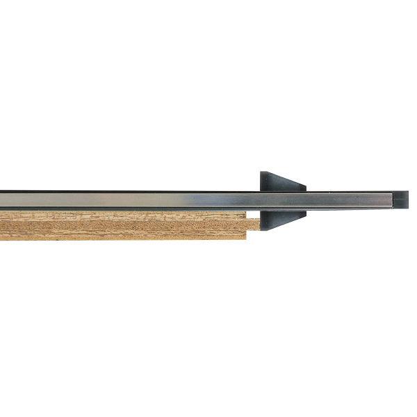 シンワ測定 丸ノコガイド定規 トライアングル ポリカ 30cm 78280 1セット(4個) (直送品)