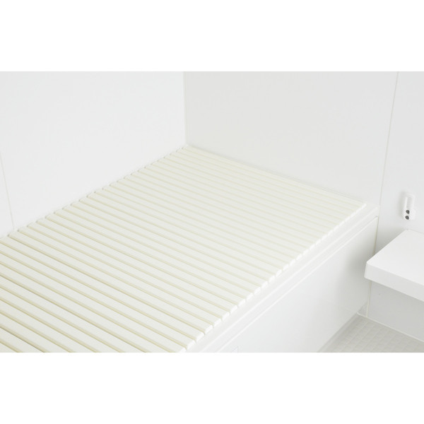 これカモ シャッター式風呂ふた 取替用 幅70×長さ160cm (コンパクト 軽量 アイボリー) GA-FR004 (直送品)