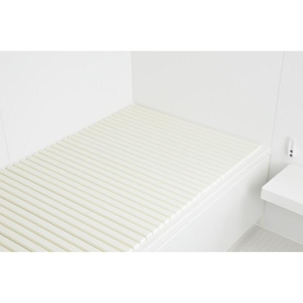 これカモ シャッター式風呂フタ 取替用 幅75×長さ190cm (コンパクト 軽量 アイボリー) GA-FR024 (直送品)