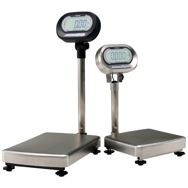 クボタ計装 防水防塵デジタル台はかり150kg用(検定品) KL-IP-K150A(地区6-7) (直送品)