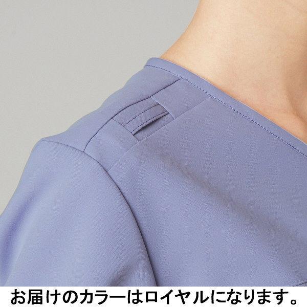 フォーク CHEROKEE(チェロキー) 医療白衣 スクラブ CH750 ロイヤル M 1枚 (直送品)
