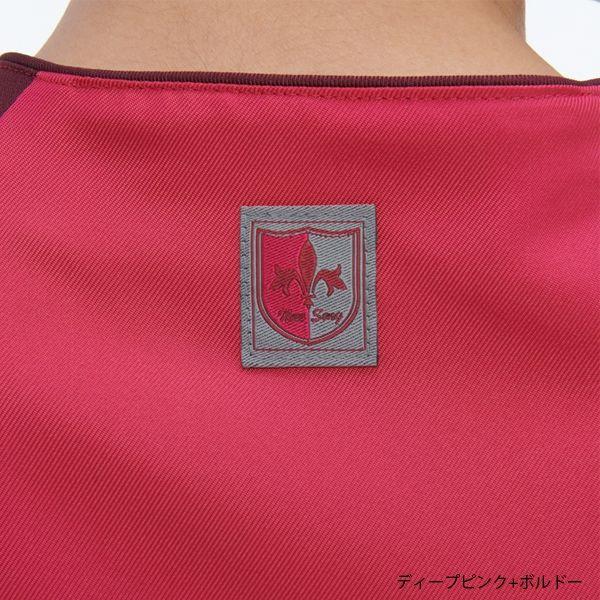 ナガイレーベン 男女兼用スクラブ ディープピンク+ボルドー S RT-5407(取寄品)