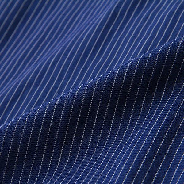 無印 インディゴシャツ 紳士 S