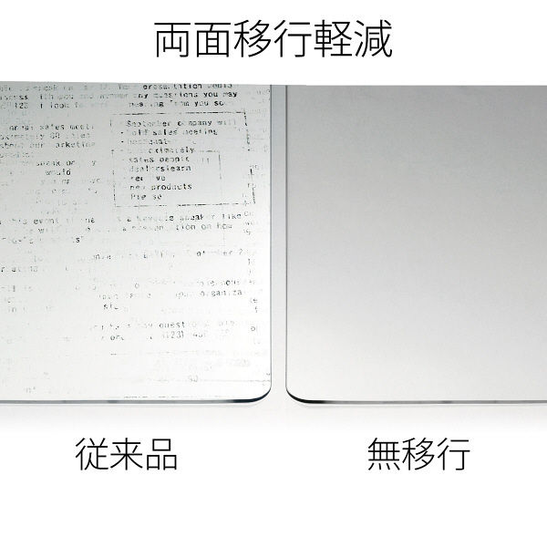 プラス ななめカットデスクマットOA DM-146EW (直送品)