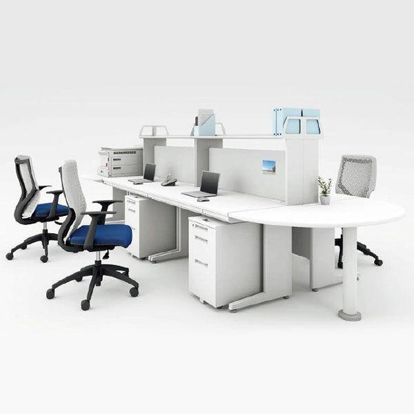 オカムラ 片袖机 W140×D70cm