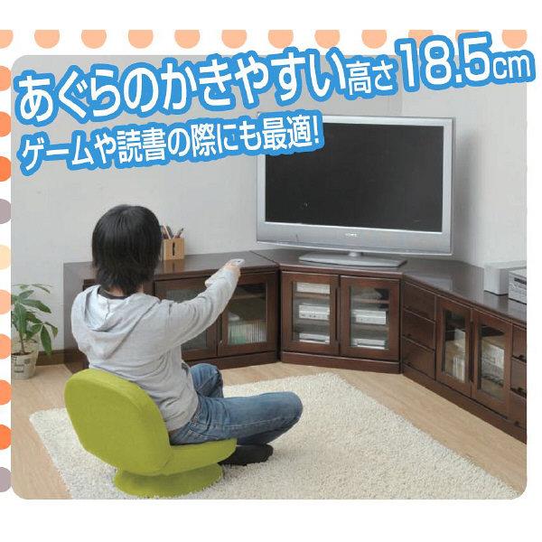 YAMAZEN(山善) コンパクト回転チェア グリーン 1脚 SAGR-45(WGR)D (直送品)