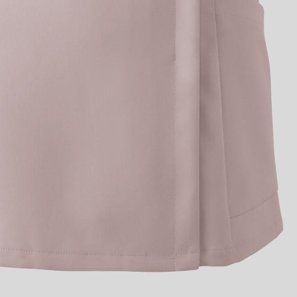 フォーク 医療白衣 ワコールHIコレクション レディスジップスクラブ (サイドジップ) HI701-22 オークル×ストエカス LL (直送品)