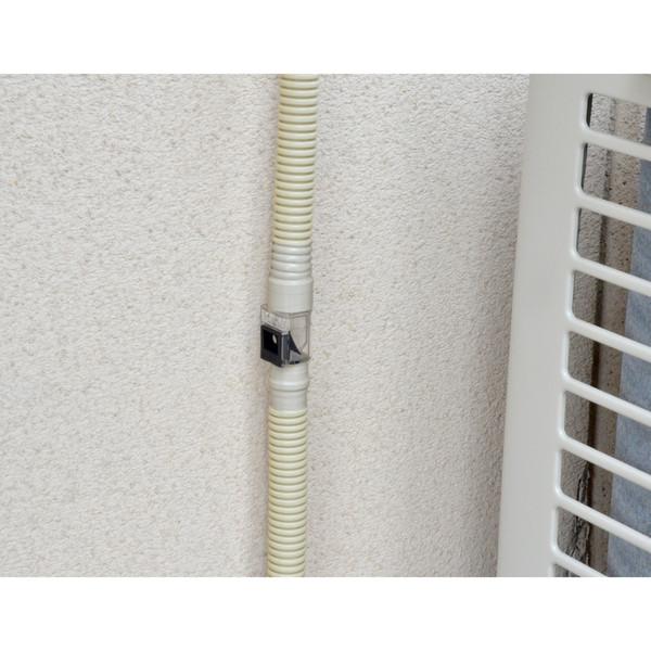ヤータモン・カーチス ドレンホースお悩み解決セット エアコン用 3.0m (長さ調節可能 ポコポコ音解消 防臭・防虫効果 取付簡単) GA-KW008(直送品)