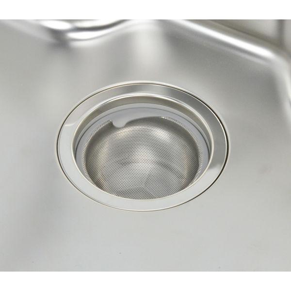 マジカヨ・アリエーネ シンク用 ステンレス製ゴミカゴ 排水口のゴミ受け (ゴミが集まりやすい 捨てやすい 汚れにくい 衛生的) GA-PB011 (直送品)