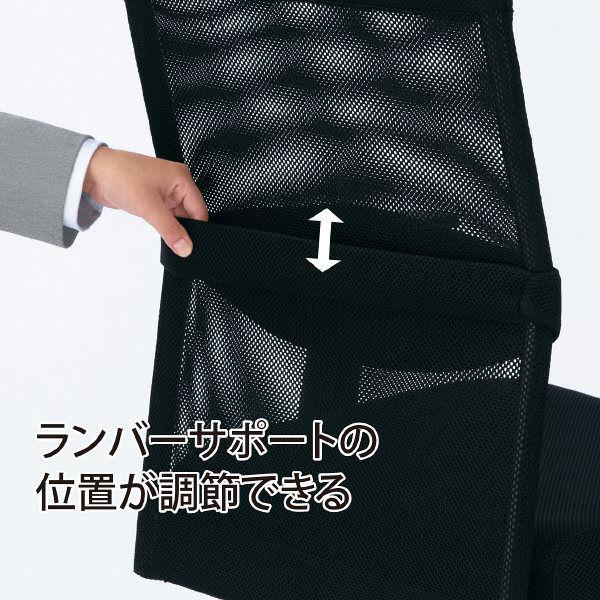 サンワサプライ メッシュOAチェア SNC-NET17ABK (直送品)