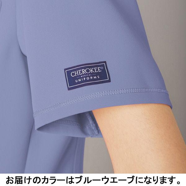 フォーク CHEROKEE(チェロキー) 医療白衣 スクラブ CH750 ブルーウエーブ EL 1枚 (直送品)