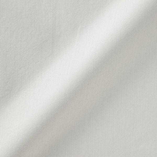 無印 ブロード五分袖ブラウス M~L
