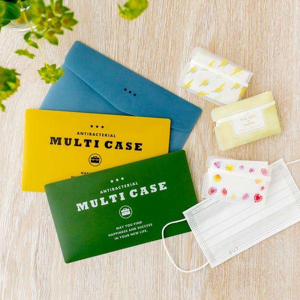 抗菌マルチケース カーキ