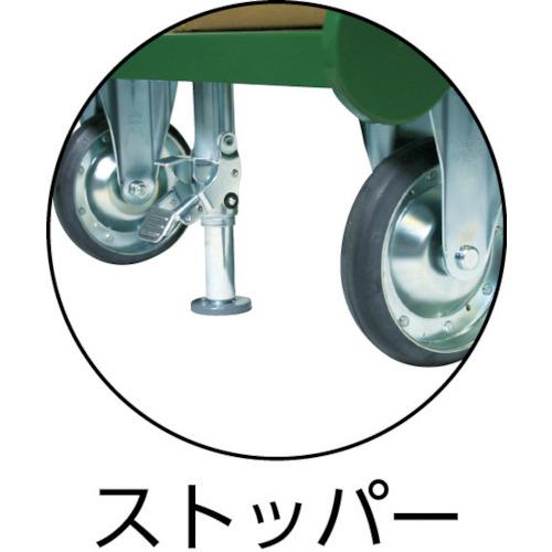 ASKUL】鋼鉄製運搬車(固定ハン...