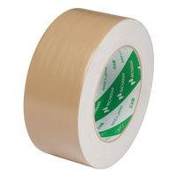 布粘着テープ No.102N 0.30mm厚 50mm×25m巻 茶 1セット(5巻:1巻×5) ニチバン
