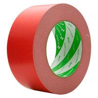 ニチバン ニュークラフトテープ No.305C 赤 50mm×50m巻 305C1-50 1セット(5巻:1巻×5)