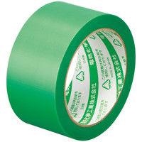 電気化学工業 養生職人 弱粘着 緑 幅50mm×25m巻 #650 1セット(5巻:1巻×5)