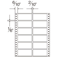 ダイオープリンティング タックフォームラベル 8×10インチ  A4 1箱(500シート入)