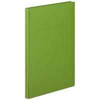 アスクル 背幅伸縮ファイル(PPラミネート表紙) A4タテ グリーン 50冊