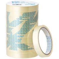 貼ってキレイなクリアテープ 幅15mm×35m 50巻 アスクル