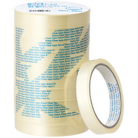 貼ってキレイなクリアテープ 幅15mm×35m 200巻 アスクル