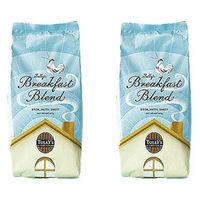 【コーヒー粉】タリーズコーヒージャパン タリーズ ブレックファーストブレンド 1セット(400g×2袋)
