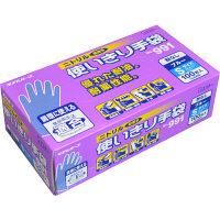 <ロハコ> No991ニトリル 使いきり手袋 粉なし S ブルー 1セット(300枚:100枚入×3箱)画像