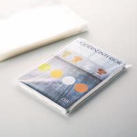 カクケイ CPP袋(フタ付) DM用 A4ワイド 横240×縦330+フタ40mm テープ付き 透明封筒 1セット(500枚:100枚入×5袋)