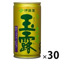 伊藤園 おーいお茶 玉露190g 7901 1箱(30缶入)