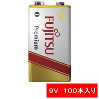 FDK アルカリ乾電池Premium9V形 6LR61FP(S) 1セット(100本)