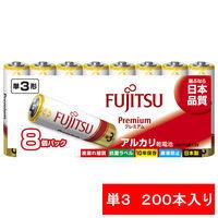 FDK アルカリ乾電池Premium単3(8P) LR6FP(8S) 1セット(200本)