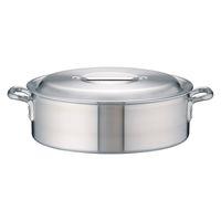 アルミDON外輪鍋 45cm ガス火専用 AST27045 アカオアルミ販売 (取寄品)