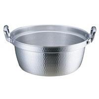 アルミDON打出円付鍋 39cm ガス火専用 AEV02039 アカオアルミ販売 (取寄品)