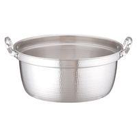 アルミDON打出円付鍋 48cm ガス火専用 AEV02048 アカオアルミ販売 (取寄品)