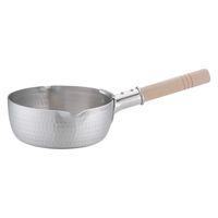 アルミDON雪平鍋(両口) 17cm ガス火専用 AYK05017 アカオアルミ販売 (取寄品)