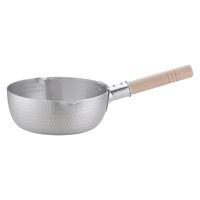 アルミDON雪平鍋(両口) 20cm ガス火専用 AYK05020 アカオアルミ販売 (取寄品)