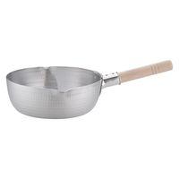 アルミDON雪平鍋(両口) 23cm ガス火専用 AYK05023 アカオアルミ販売 (取寄品)