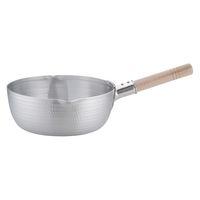 アルミDON雪平鍋(両口) 26cm ガス火専用 AYK05026 アカオアルミ販売 (取寄品)