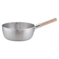 アルミDON雪平鍋(両口) 27cm ガス火専用 AYK05027 アカオアルミ販売 (取寄品)