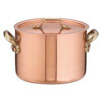SAエトール銅半寸胴鍋 15cm