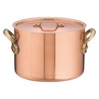SAエトール銅半寸胴鍋 18cm