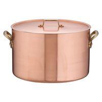 SAエトール銅半寸胴鍋 33cm