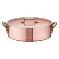SAエトール銅外輪鍋 27cm ガス火専用 AST14027 遠藤商事 (取寄品)