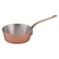 SAエトール銅テーパー鍋 21cm
