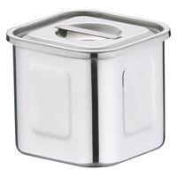 18-8深型角キッチンポット 8cm AKK06008 三宝産業 (取寄品)