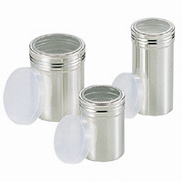 <LOHACO> SA18-8パウダー缶(アクリル蓋付) 大 BPU01001 遠藤商事 (取寄品)画像
