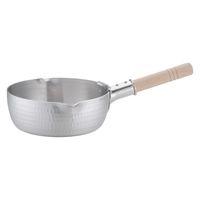 アルミDON雪平鍋(両口) 18cm ガス火専用 AYK05018 アカオアルミ販売 (取寄品)