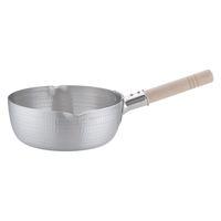 アルミDON雪平鍋(両口) 24cm ガス火専用 AYK05024 アカオアルミ販売 (取寄品)